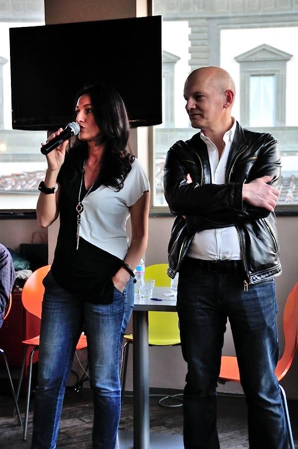 Alessandra con Leonardo Gori