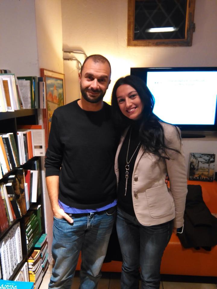 Alessandra con Fabio Genovesi