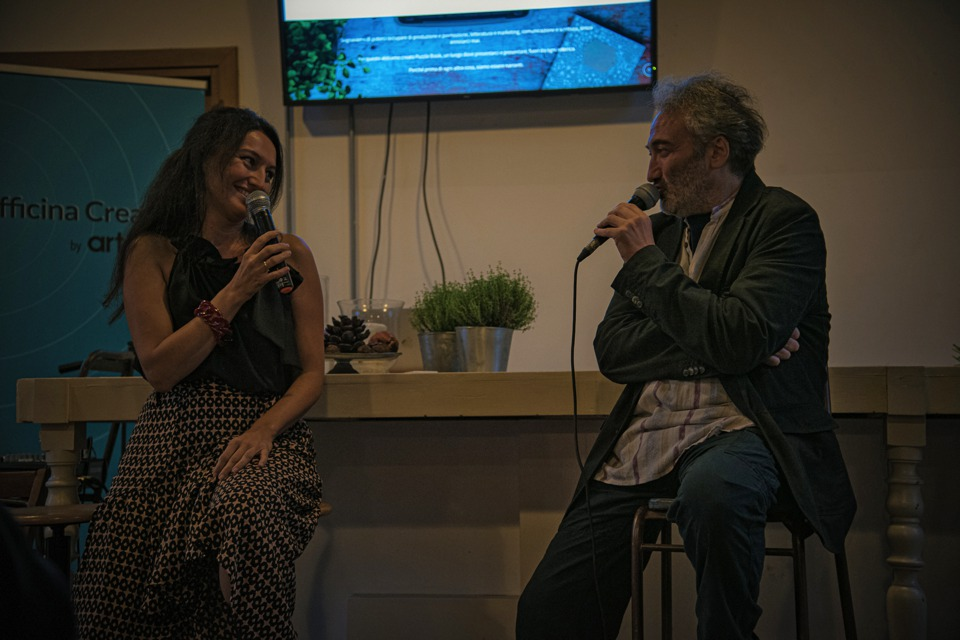 Alessandra con Tony Laudadio