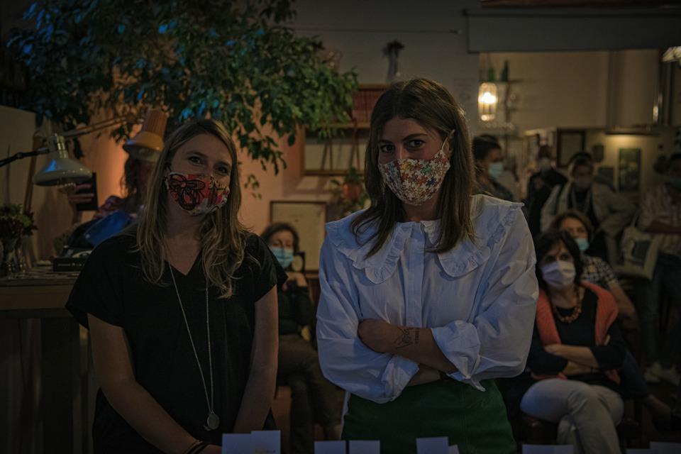 Simona e Eleonora evento lancio